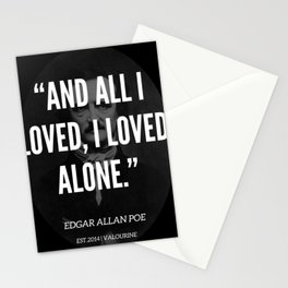 25 |  Edgar Allan Poe Quotes | 190518 Stationery Cards