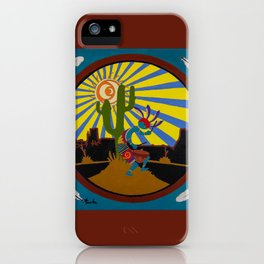 Kokopelli #3 iPhone Case