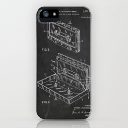 Storage Case for a Tape Cartridge Patent iPhone Case