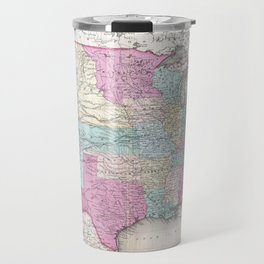 1857 Colton Map of the United States of America Travel Mug