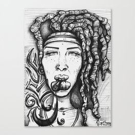Trippy Hippy Canvas Print