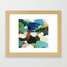 Minor Meander Framed Art Print