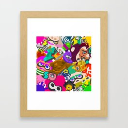 Mem Cakes Framed Art Print