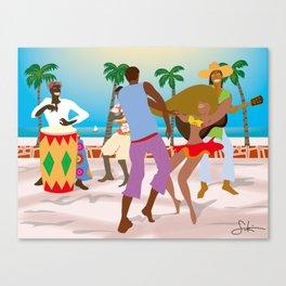 Dance Holiday! Canvas Print