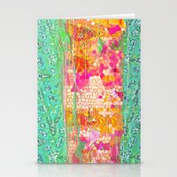 honeycomb Stationery Cards featuring Honeycomb by Ingrid Padilla