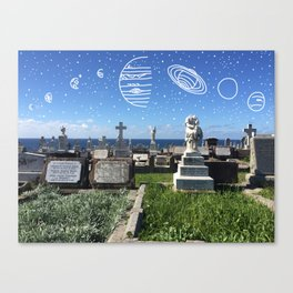 Starcrossed Souls Canvas Print