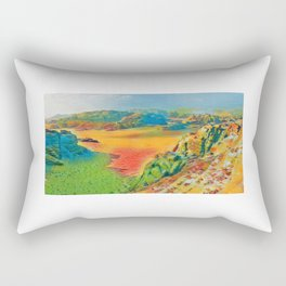 Wadi Rum, Jordan Rectangular Pillow