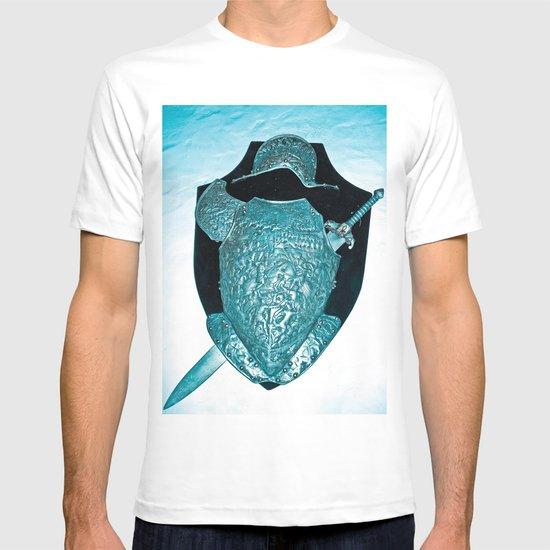 SHIELDS, HELMETS AND SWORDS 2 T-shirt