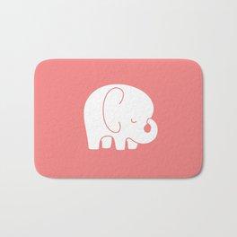 Mod Baby Elephant Coral Bath Mat