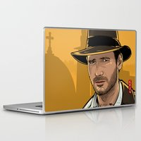indiana Laptop & iPad Skins featuring Indiana by Akyanyme