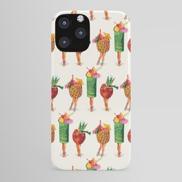 Tiki Cocktail Pin-Ups iPhone Case