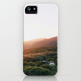 Golden Hour in the Marin Hills iPhone Case