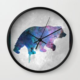 Galaxy Series (Bear) Wall Clock