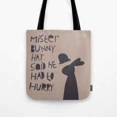 Mister Bunny Hat Tote Bag