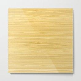 Ash Wood Texture Metal Print