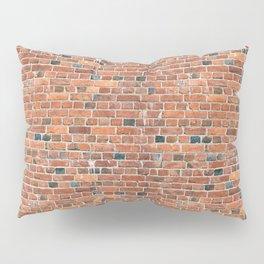 old vintage brick wall Pillow Sham