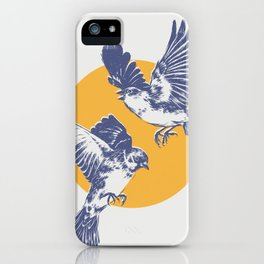 Sparrows iPhone Case