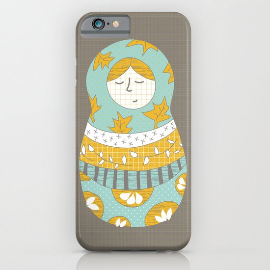 Autumnish mamushkas iPhone & iPod Case