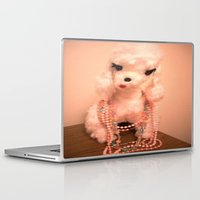 poodle Laptop & iPad Skins featuring Pearl Poodle by Vintage  Cuteness