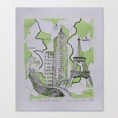 The World Traveler Canvas Print