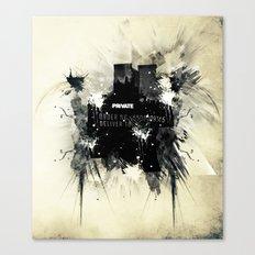 Private place Canvas Print