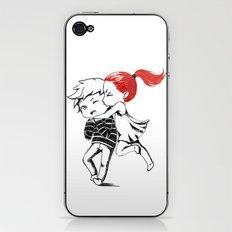 Girl and a Boy iPhone & iPod Skin
