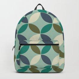 Mid Century Modern Geometric Flower Pattern 234 Backpack