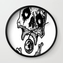 Dragon Ball Z Skull Series - Frieza copy Wall Clock