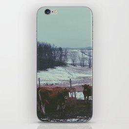 Calm hills iPhone Skin