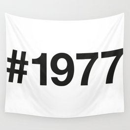 1977 Wall Tapestry