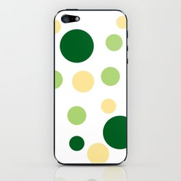 Green Pop iPhone Skin