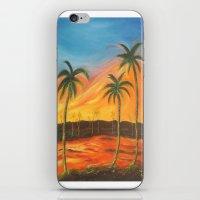 desert iPhone & iPod Skins featuring Desert by ArtSchool