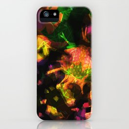 abstract 005. sunset iPhone Case