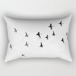 Flock of Birds Rectangular Pillow