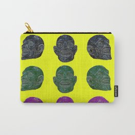 Laughing Head Carry-All Pouch
