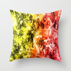 Abstract 2014-11-01 Throw Pillow
