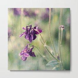 purple summer Metal Print