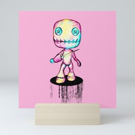 Crazy Voodoo Doll With A Pin Mini Art Print