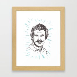Tom Selleck! Framed Art Print