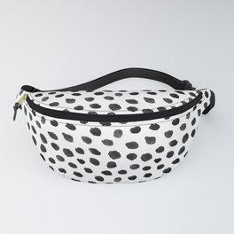 Black & White Dalmatian Pattern Fanny Pack