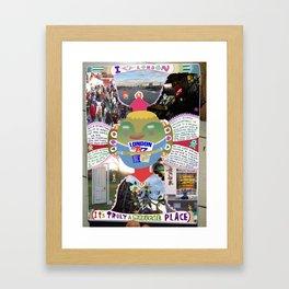 I ♡ London Framed Art Print