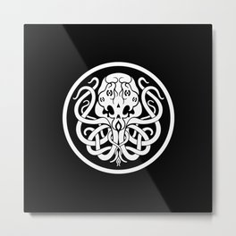 Cthulhu Symbol Metal Print
