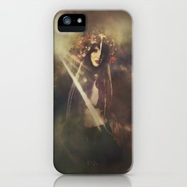 The wild huntress iPhone Case