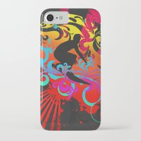 surfer iPhone & iPod Cases featuring Surfer by Allison Reich