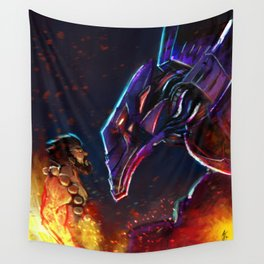League of Legends. Micha Malphite VS Spirit Guard Udyr. Wall Tapestry