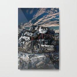 Breakage Metal Print