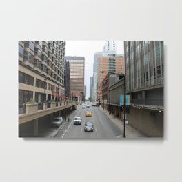 Lose the Blues in Chicago Metal Print