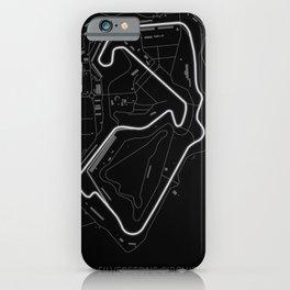 Silverstone Circuit iPhone Case