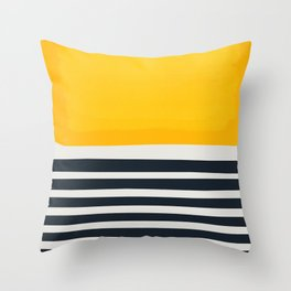 Sticks In The Sand Throw Pillow
