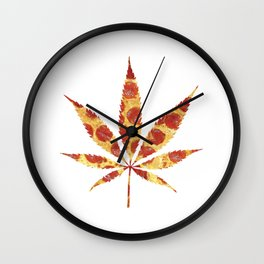 Pizza Doesn't Grow On Trees Wall Clock